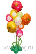 Оформление воздушными шарами для женщин Для милых дам