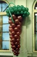 оформление воздушными шарами презентации (фото). Нажмите, для просмотра увеличенного изображения