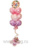 Букет из шариков для девушки: Нежность