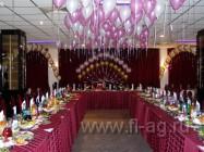 Хвост павлина воздушные шары под потолок