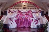 украшение воздушными шарами свадьбы. Нажмите, для просмотра увеличенного изображения