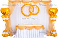 Фото оформление воздушными шарами свадьбы королевская коллекция